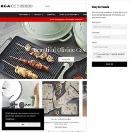 agacookshop.co.uk preview