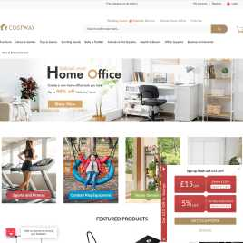 costway.co.uk preview