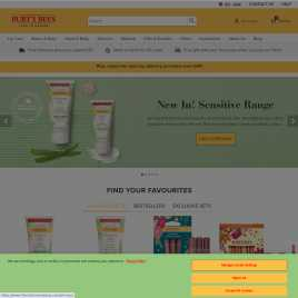 burtsbees.co.uk preview