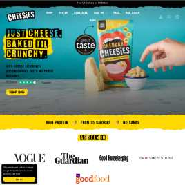 cheesies.co.uk preview