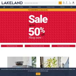 lakeland.co.uk preview